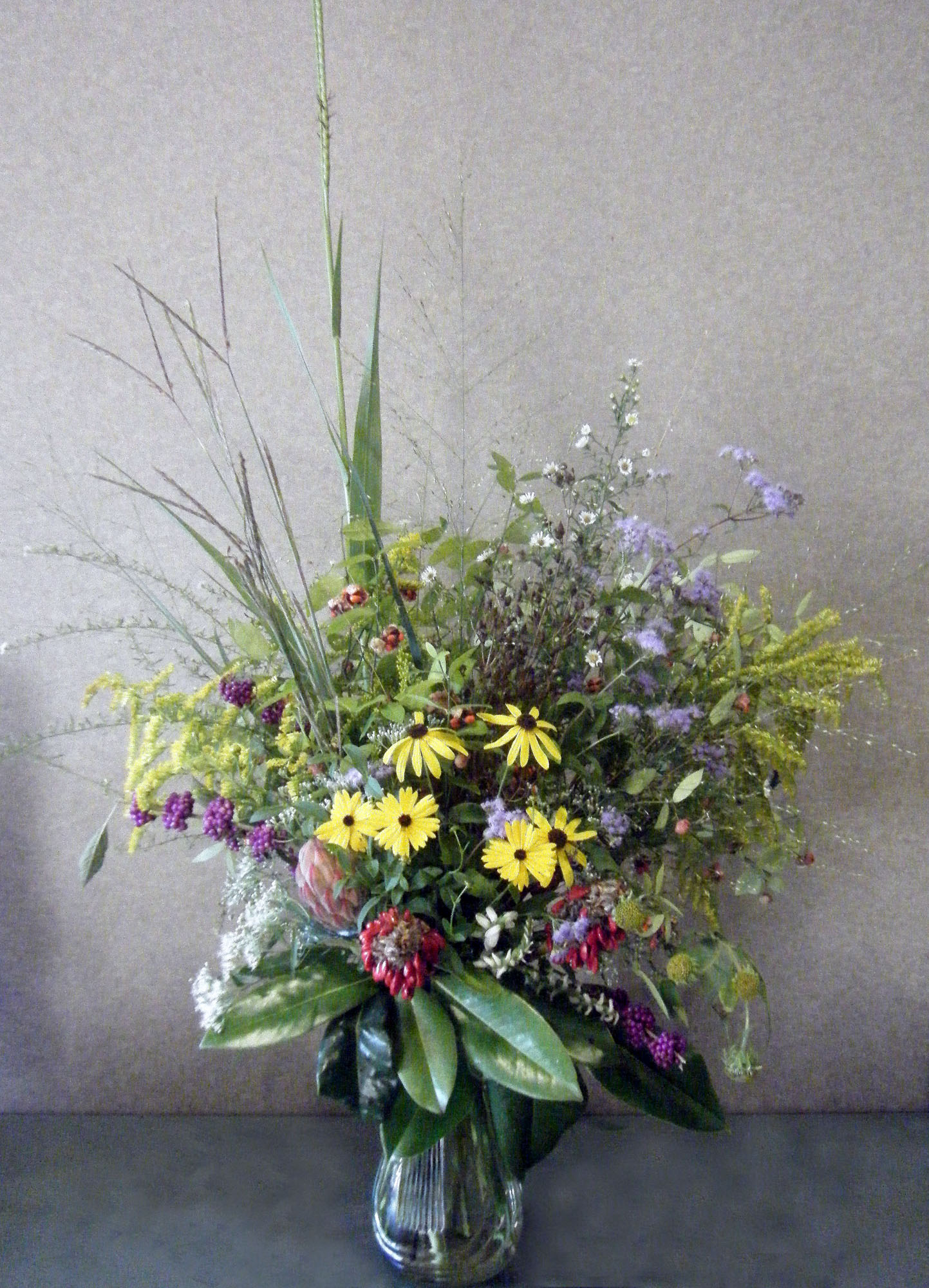 I Made This Wildflower Arrangement ...